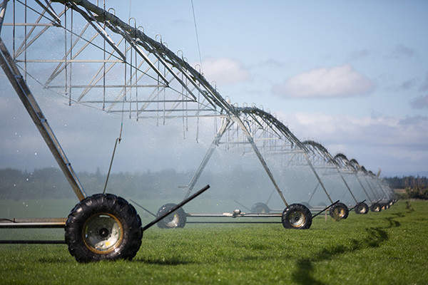New Zeland safe-guarded by irrigation