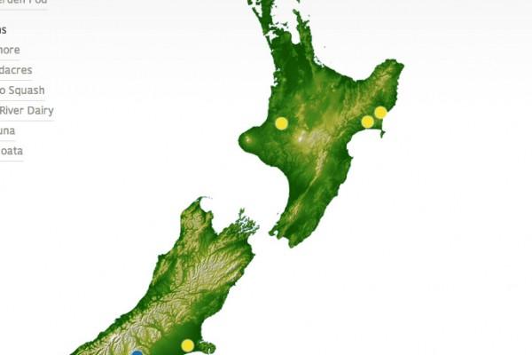 Map of Craigmore farms