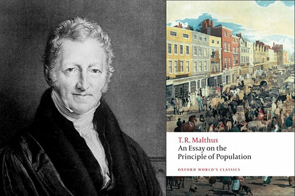 Thomas Malthus, An Essay on the Principle of Population on the
