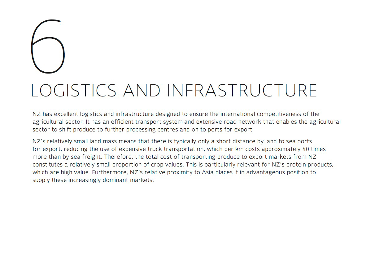 Logistics and infrastructure
