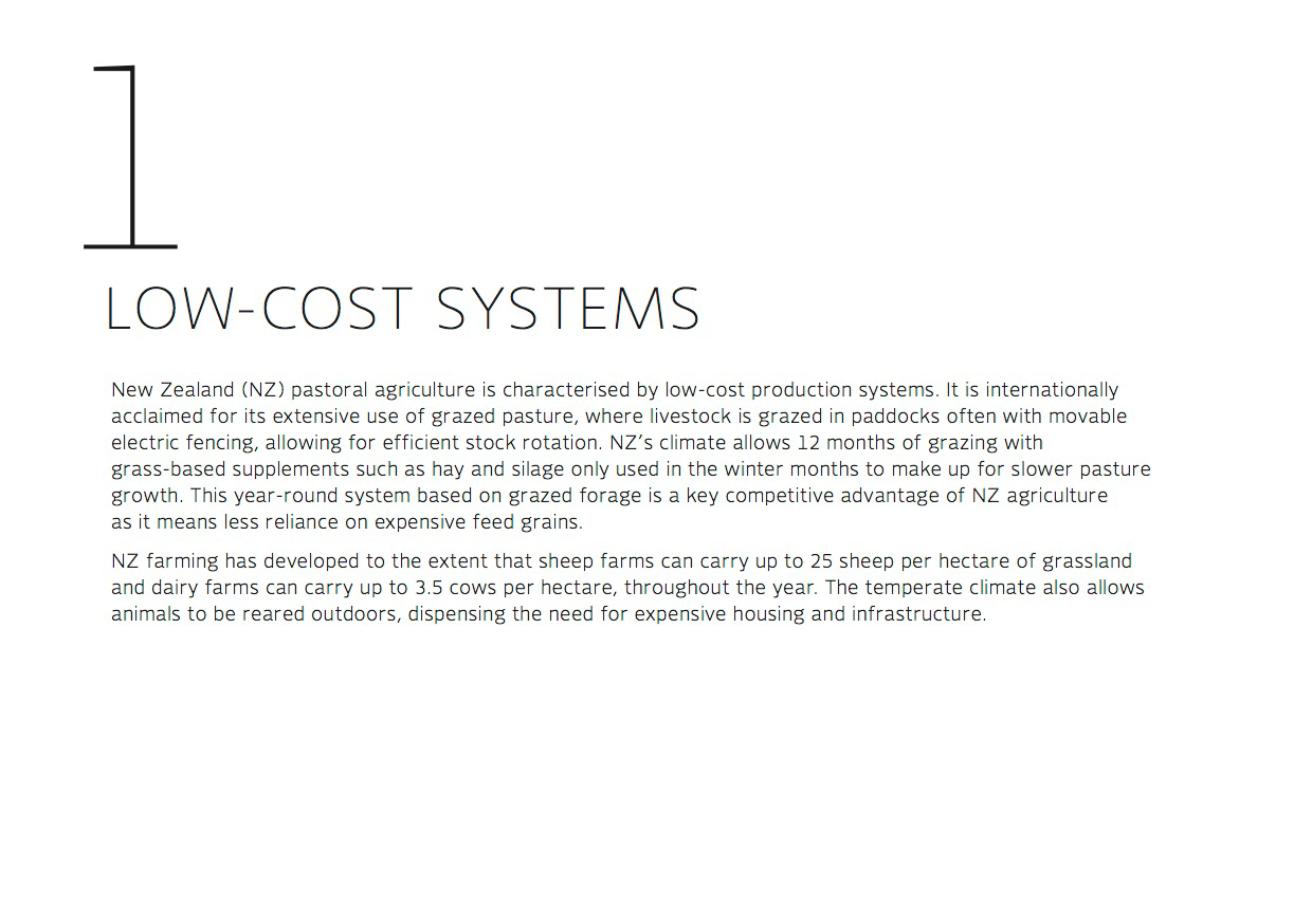 Low-cost systems