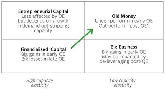 A Life Cycle Approach to Investing in QE periods