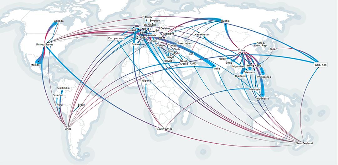 World apple trade